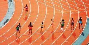 Olympics runners