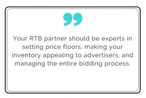 quote about top RTB platforms for publishers