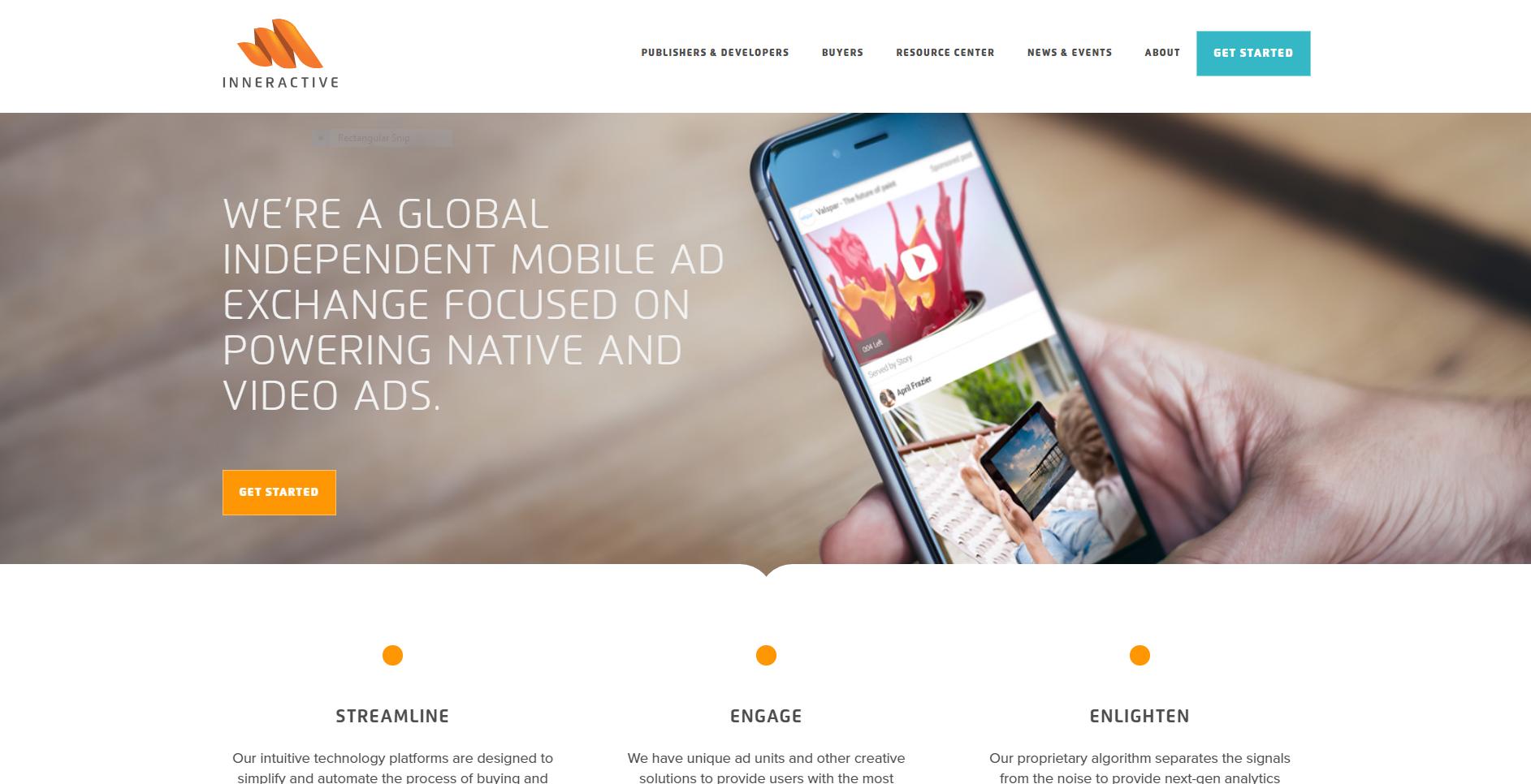 Inneractive website