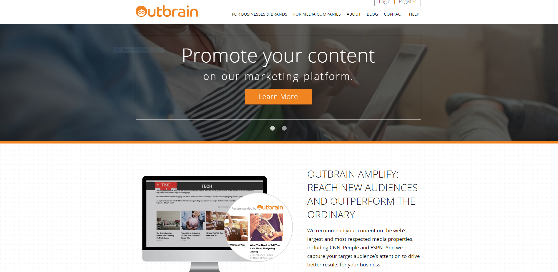 Outbrain a top RTB platforms for publishers
