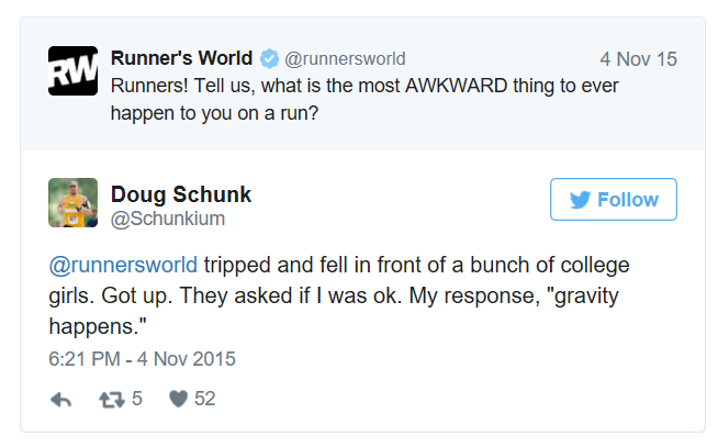 runner's world tweets